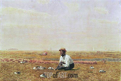 Whistling for Plover, 1874 | Thomas Eakins | Painting Reproduction