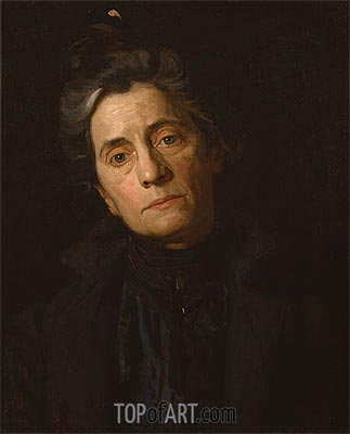 Portrait of Mrs. Thomas Eakins, c.1899 | Thomas Eakins | Painting Reproduction