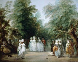 The Mall in St. James's Park | Gainsborough | Gemälde Reproduktion