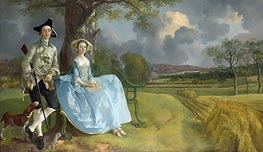 Mr and Mrs Andrews | Gainsborough | Painting Reproduction