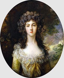 Portrait of Mrs Charles Hatchett | Gainsborough | Painting Reproduction