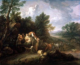 The Harvest Waggon, 1784 von Gainsborough | Gemälde-Reproduktion
