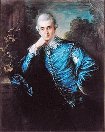 Paul Cobb Methuen, undated by Gainsborough | Painting Reproduction