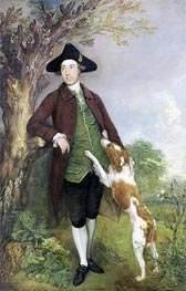 Portrait of George Venables Vernon, 2nd Lord Vernon | Gainsborough | Gemälde Reproduktion