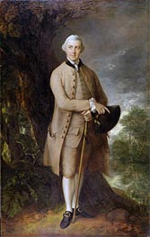 William Johnstone-Pulteney, Later 5th Baronet, c.1772 by Gainsborough | Painting Reproduction