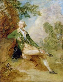 Edward Augustus, Duke of Kent, c.1787 by Gainsborough | Painting Reproduction