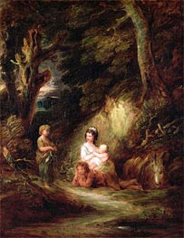 Gypsy Encampment, c.1788/92 by Gainsborough | Painting Reproduction