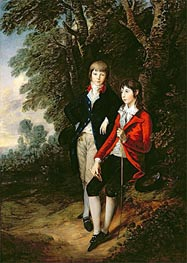 Edward and Thomas Tomkinson, c.1784 by Gainsborough | Painting Reproduction