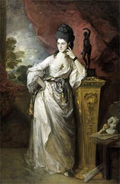 Penelope (Pitt), Viscountess Ligonier, 1770 by Gainsborough | Painting Reproduction