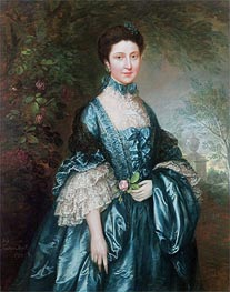 Miss Theodosia Magill, Countess Clanwilliam, 1765 by Gainsborough | Painting Reproduction