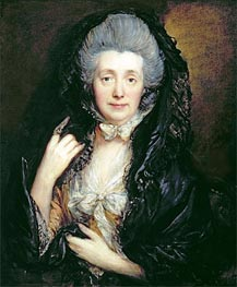 Portrait of Mrs. Mary Gainsborough, c.1779 by Gainsborough | Painting Reproduction
