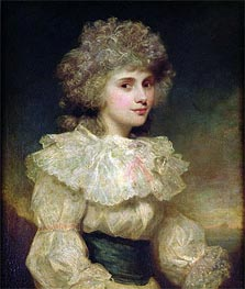 Lady Elizabeth Foster later Elizabeth Cavendish, Duchess of Devonshire, Undated von Gainsborough | Gemälde-Reproduktion