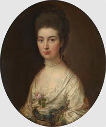 Mrs. Ralph Izard (Alice DeLancey), Undated von Gainsborough | Gemälde-Reproduktion