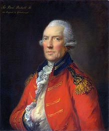 Lieutenant Colonel Paul Pechell, Undated von Gainsborough | Gemälde-Reproduktion