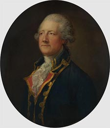 Portrait of a Man (General Blyth) | Gainsborough | Gemälde Reproduktion