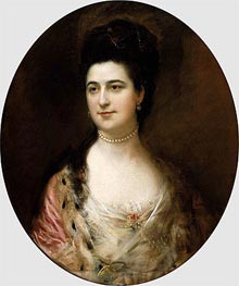 Mrs. Thomas Mathews | Gainsborough | Painting Reproduction