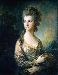 The Hon. Mrs. Thomas Graham, c.1775/77 by Gainsborough | Painting Reproduction