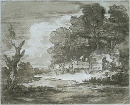 Landscape | Gainsborough | Painting Reproduction
