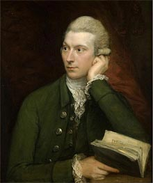 Portrait of John Palmer | Gainsborough | Painting Reproduction