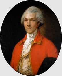 Sir Benjamin Thompson, later Count Rumford, 1783 von Gainsborough | Gemälde-Reproduktion