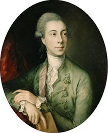 Richard Paul Jodrell, c.1774 von Gainsborough | Gemälde-Reproduktion