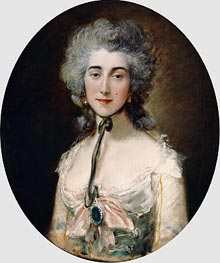 Grace Dalrymple Elliott, c.1782 by Gainsborough | Painting Reproduction