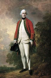Portrait of George Pitt, First Lord Rivers, c.1768/69 von Gainsborough | Gemälde-Reproduktion