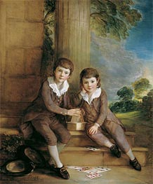 Master John Truman-Villebois and his Brother Henry | Gainsborough | Painting Reproduction
