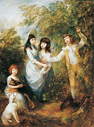 The Marsham Children, 1787 by Gainsborough | Painting Reproduction