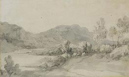 A View in the Lake District | Gainsborough | Painting Reproduction