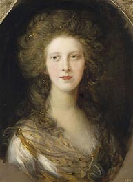 Charlotte, Princess Royal, 1782 by Gainsborough | Painting Reproduction
