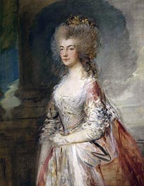 Anne, Duchess of Cumberland, 1783 by Gainsborough | Painting Reproduction