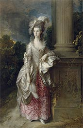 The Honourable Mrs Graham, c.1775/77 by Gainsborough | Painting Reproduction