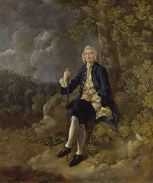 Clayton Jones, c.1744/45 by Gainsborough | Painting Reproduction