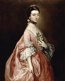 Mary Little, later Lady Carr, c.1765 by Gainsborough | Painting Reproduction