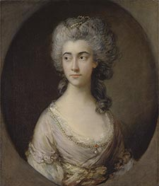 Mary Heberden, c.1777 by Gainsborough | Painting Reproduction