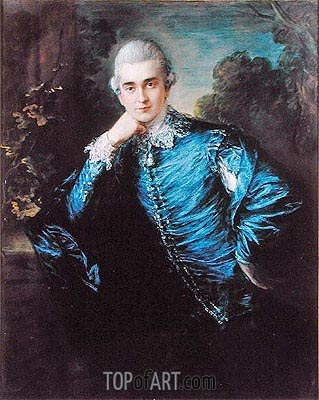 Paul Cobb Methuen, undated | Gainsborough | Painting Reproduction