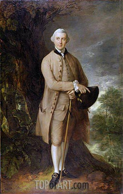 William Johnstone-Pulteney, Later 5th Baronet, c.1772 | Gainsborough | Painting Reproduction