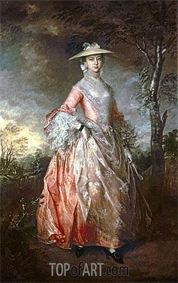 Mary, Countess Howe, c.1763/64 | Gainsborough | Painting Reproduction