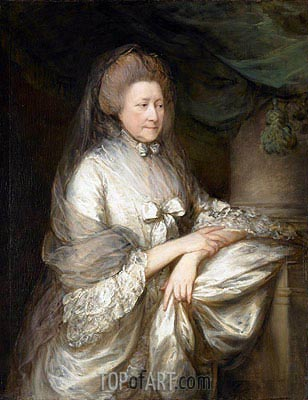 Viscountess Folkestone, c.1778 | Gainsborough | Gemälde Reproduktion
