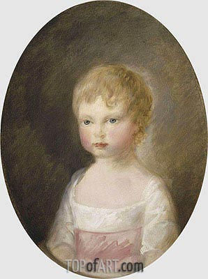 Prince Alfred, 1782 | Gainsborough | Painting Reproduction