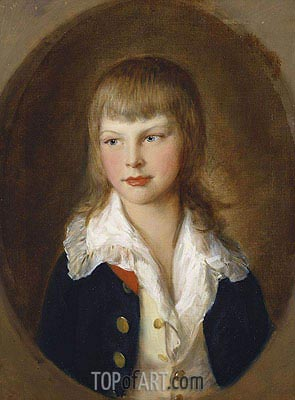 Prince Augustus, later Duke of Sussex, 1782 | Gainsborough | Painting Reproduction