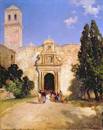 Maravatio, Mexico, 1912 by Thomas Moran | Painting Reproduction