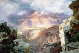 A Miracle of Nature, 1913 by Thomas Moran | Painting Reproduction