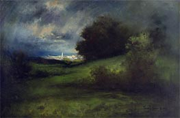Summer Storm, 1903 by Thomas Moran | Painting Reproduction