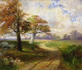 Autumn Scene, 1902 by Thomas Moran | Painting Reproduction