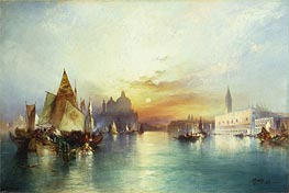 Venice, 1897 by Thomas Moran | Painting Reproduction