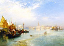 The Fisherman's Wedding Party | Thomas Moran | Gemälde Reproduktion