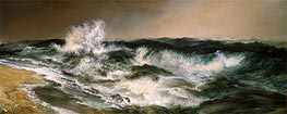The Much Resounding Sea | Thomas Moran | Gemälde Reproduktion