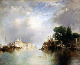 View of Venice | Thomas Moran | Painting Reproduction
